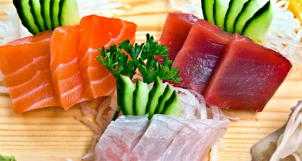 Her er oppskriftene på sashimi og ris