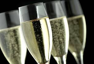 Enestående smaking av topp champagner
