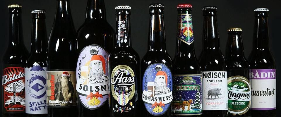 Her er de beste sterke norske juleølene