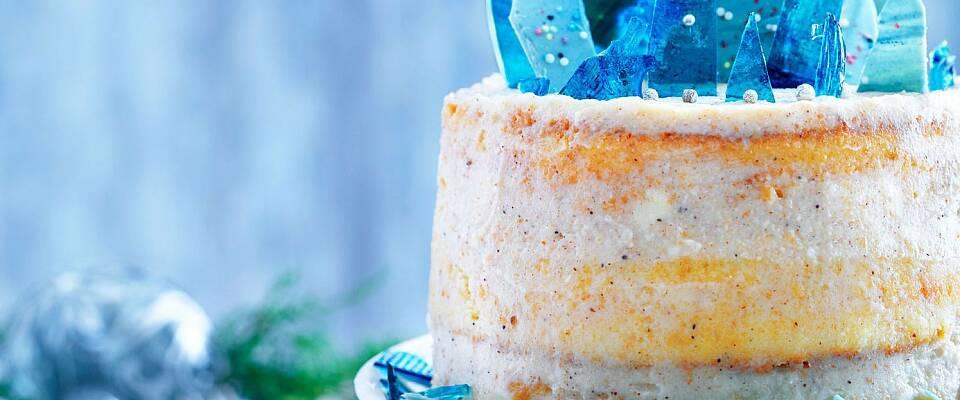 Bak denne flotte kaken til nyttårsfesten
