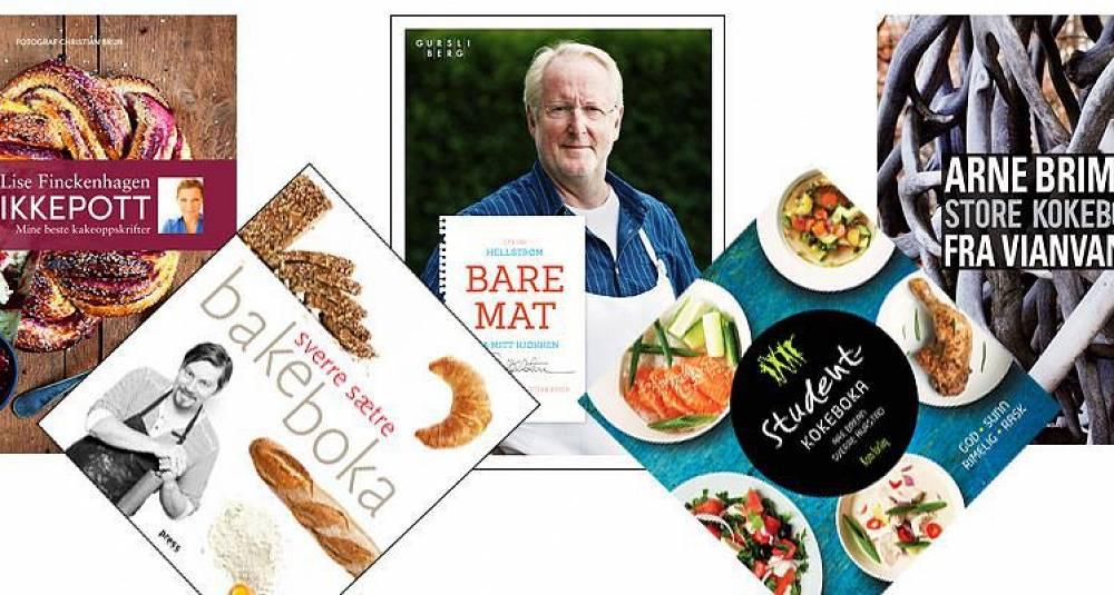 Årets fem beste norske kokebøker