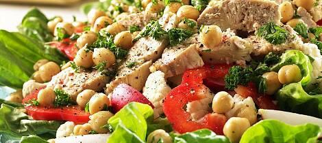 En slik salat får opp matlysten