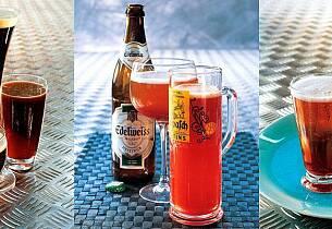 Drinker og cocktails med øl