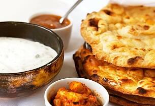 Bli ekspert på indisk mat. Lær å lage perfekte naanbrød  – Matkurs 23. mars