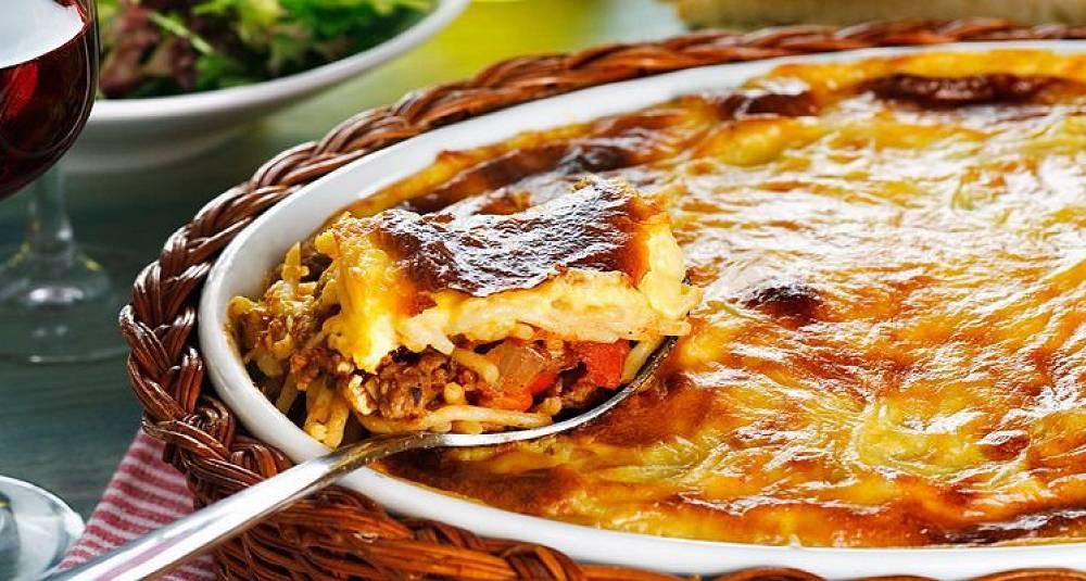 Du lager denne lasagne-vrien på under en time