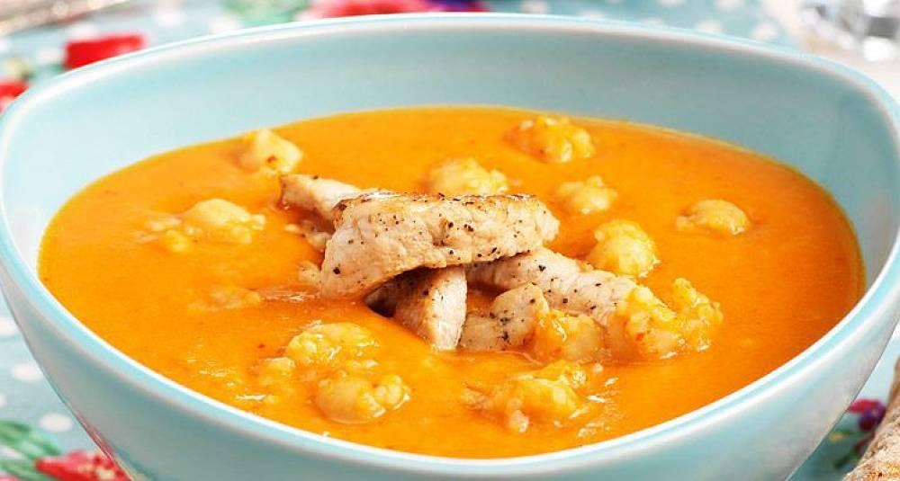 Selv om det er midt i juli, smaker en litt hot suppe fortreffelig