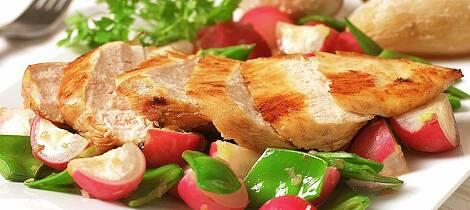 Gjør kyllingmiddagen ekstra frisk og vårlig