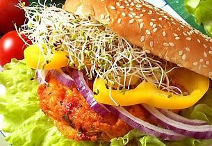 I dag blir det en ekstra god og saftig burger til middag