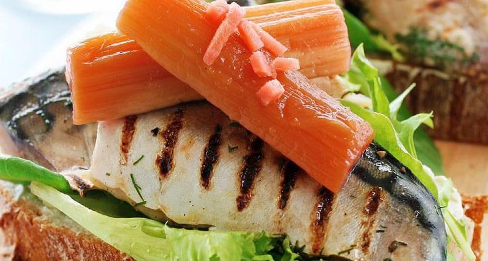 I dag er det makrell som skal på grillen