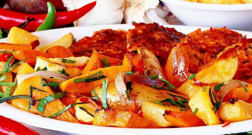 Du kan lage et helt festmåltid med rotfrukter