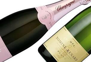 Billig, men god champagne