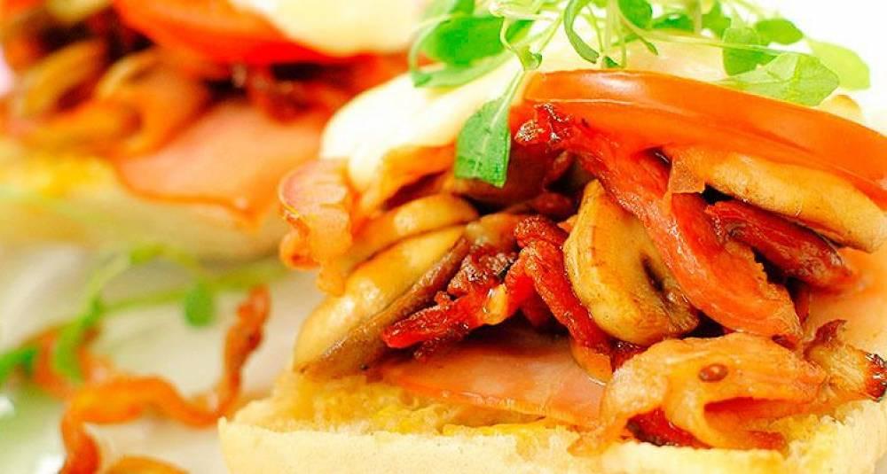 En slik sandwich gjør stas på middagen