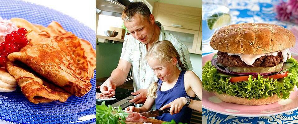 La barna fikse maten selv i ferien