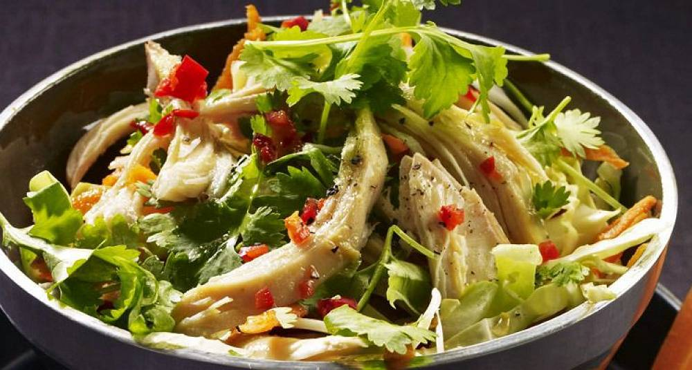 En salat som denne får fart på mandagsmiddagen
