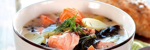 Lag en sensommerlig fiskesuppe