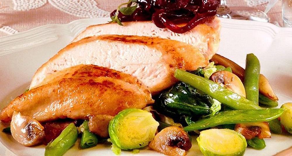 Slik får kyllingfileten smak av jul