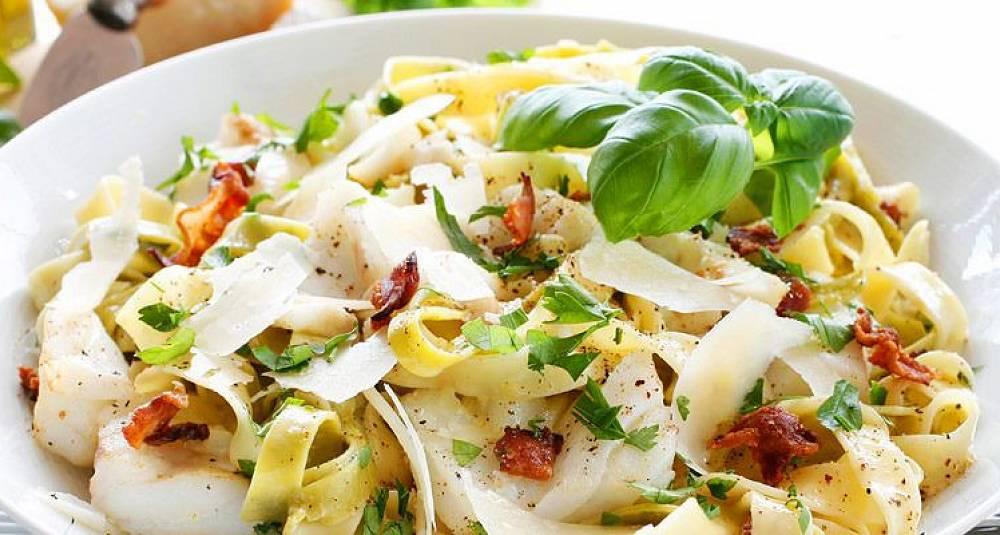 Du bør absolutt prøve denne vrien på pasta carbonara