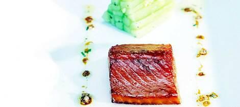 Langtidsbaker du fisken, får du en helt fantastisk smak. NB Må prøves
