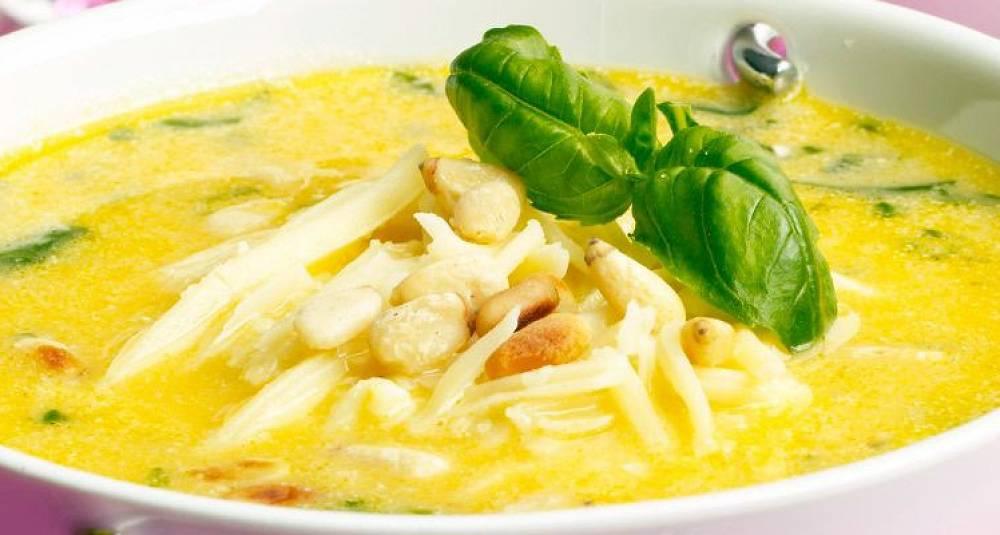Denne flotte suppen metter og smaker mye