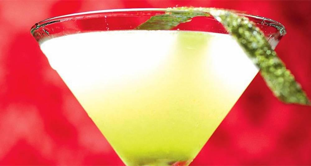 Sterk japansk cocktail med vodka