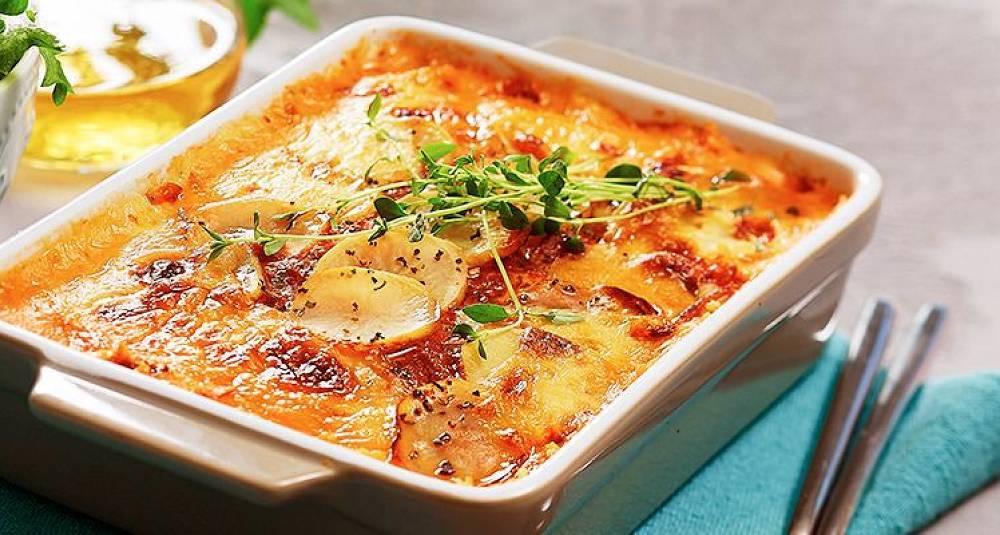 Har du prøvd å lage lasagne av poteter?