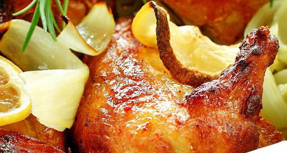Grillet kylling med smak av honning