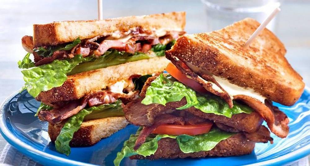BLT-sandwich for barna