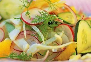 Jamie Olivers salat som i Amalfi - Insalata amalfitana
