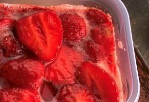 Rørte jordbær