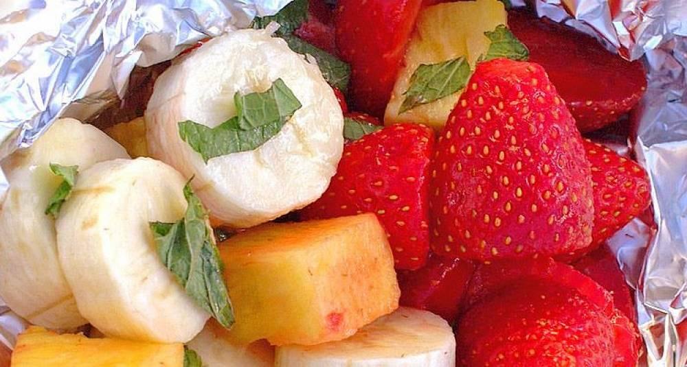 Grillmesterens fruktdessert