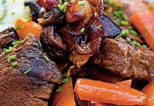 Hellstrøms kjøttgryte med potetmos