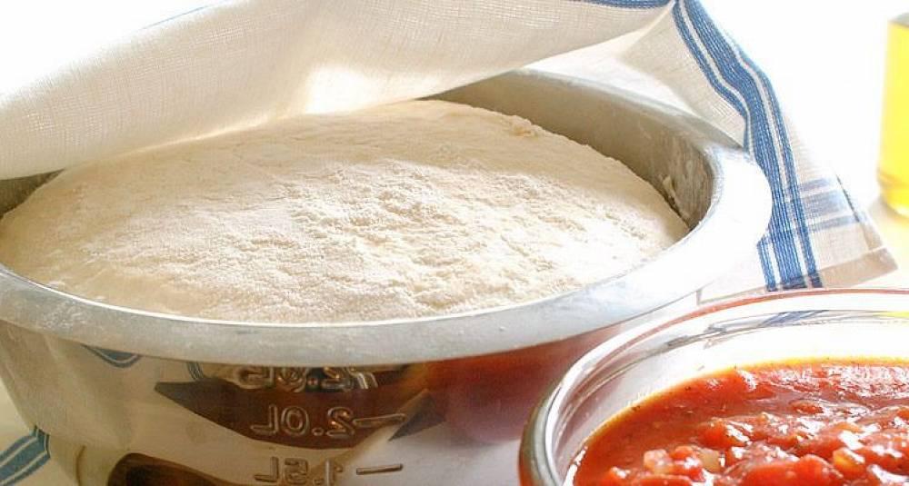 Pizzadeig grunnoppskrift