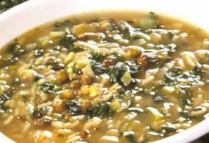 Persisk suppe med linser