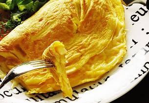 Grunnoppskrift på omelett