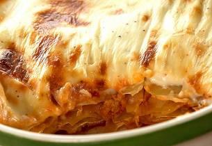 Slik lager du enkel lasagne