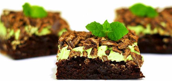 After Eight brownies