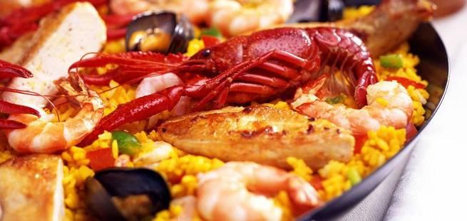 Paella på spansk vis