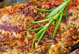 Grillede lammekoteletter