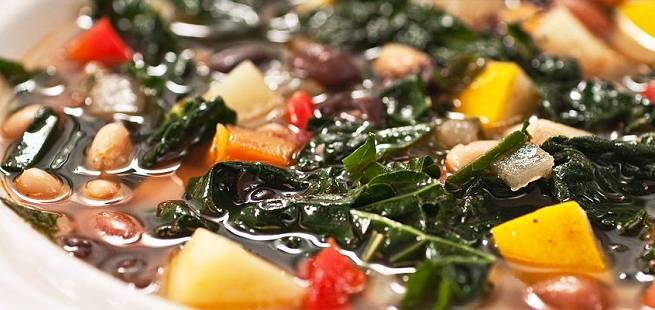 Spicy suppe med høstens grønnsaker