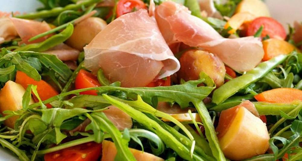 Salade de campagne - Fransk bondesalat