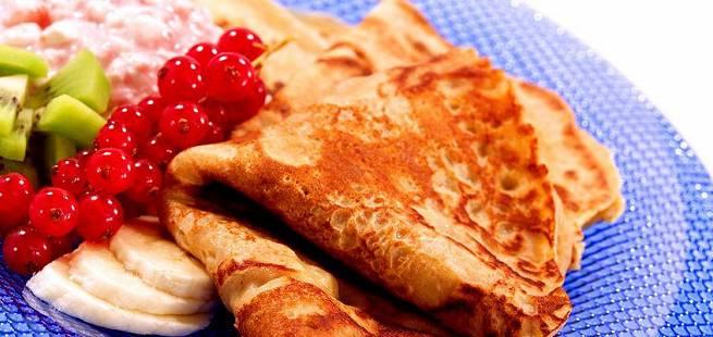 Slik lager du grove pannekaker