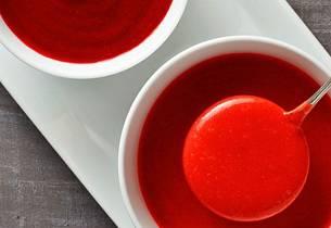 Jordbær-pernodsaus