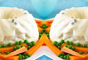 Hjemmelaget fiskepudding