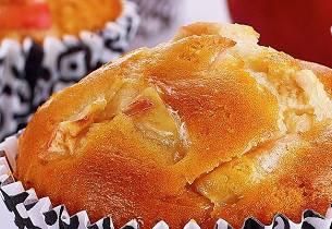 Slik baker du eplemuffins