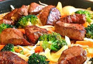 Biff i rød karri (Red curry beef)