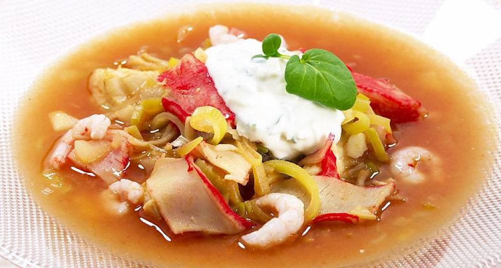 Enkel og rask bouillabaisse