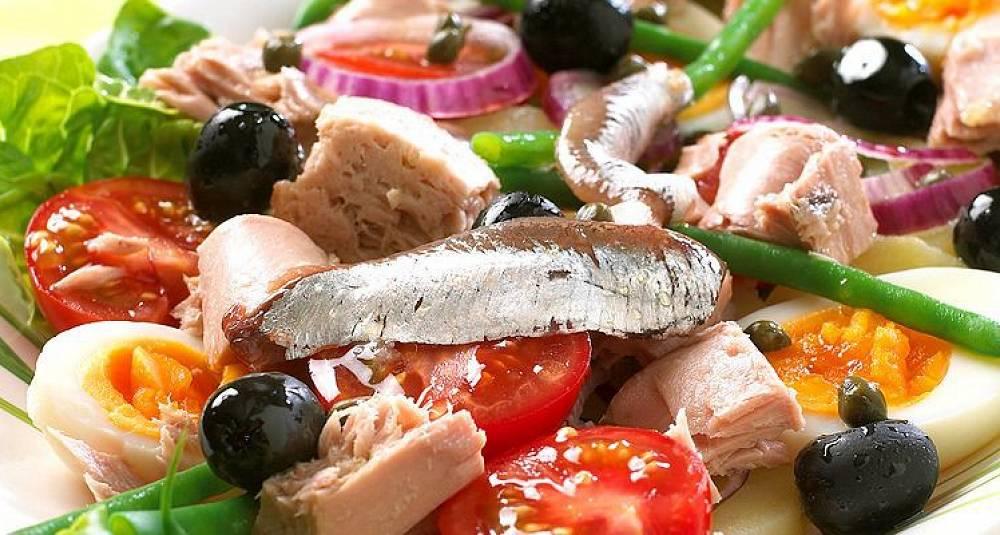 Salade Niçoise - salat fra Nice