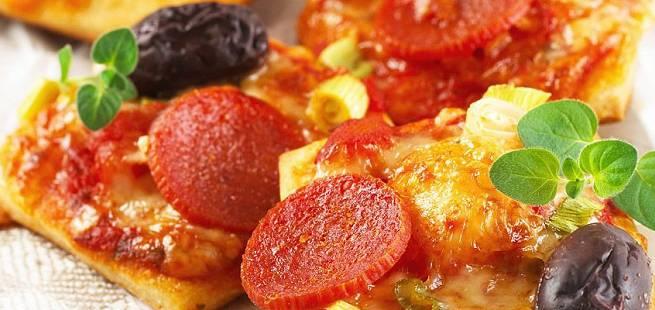 Pizza med norsk vri
