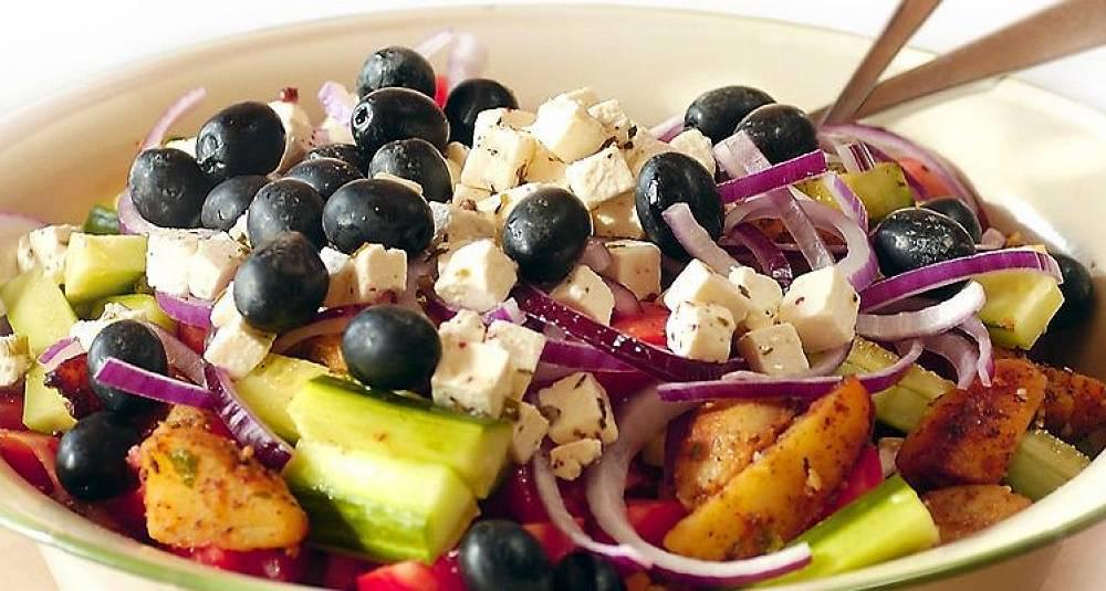 Gresk salat med nipottiser