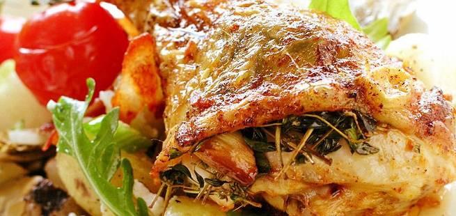 Kyllinglår med urter